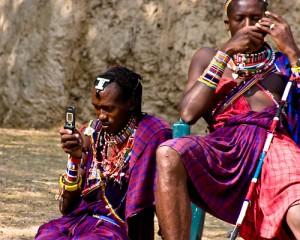 Maasai-texting