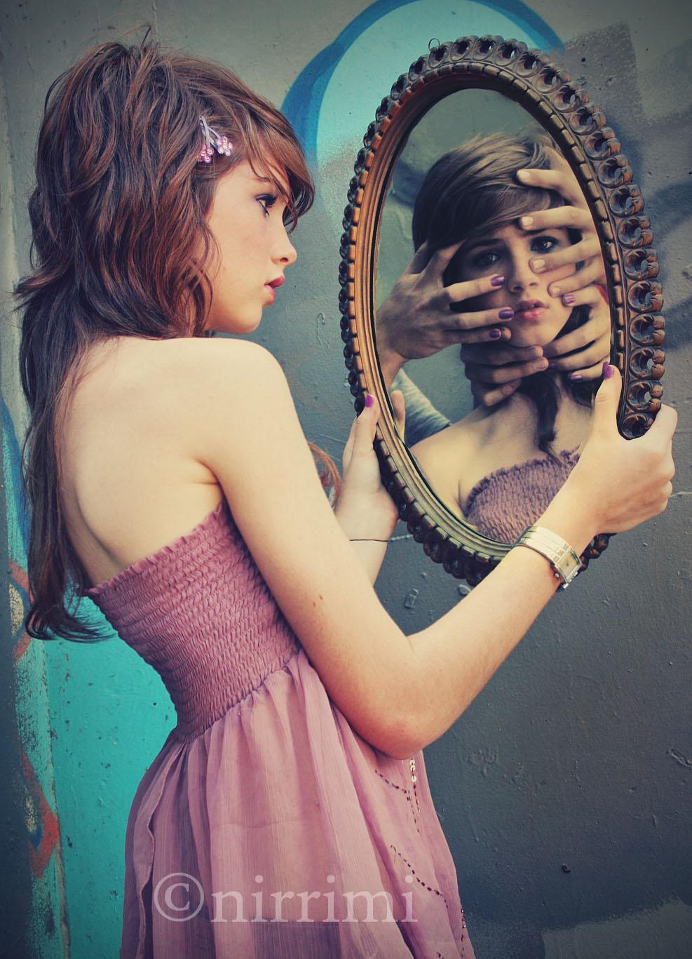 Mirror the insyder the teeniez voice for Mirror reflection