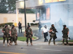 Police quell riots in Ferguson