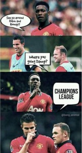Man U Welbeck to Arsenal Meme