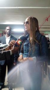 Alaine in Nairobi