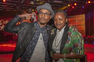 Owuor Arunga (left) and Fena Gitu