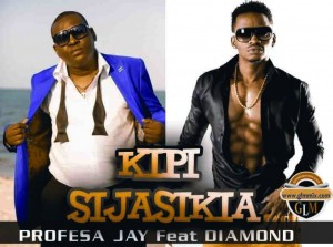 Prof J n Diamond Kipi Sijasikia Poster
