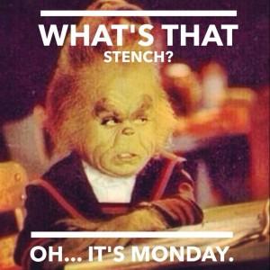 Monday Stinks