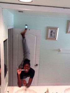 Acrobatics Selfie