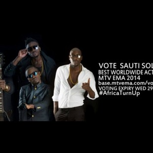Vote SAUTI SOL for MTV EMA Best Worldwide Act 2014