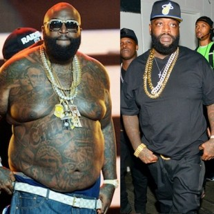 Rick Ross Getting His Pimp On