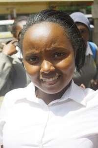"""You get lots of experiences in life."" Grace  Moi Girls Kamangu"