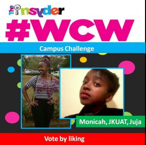 Monicah JKUAT, #WCW, Hottest Honie