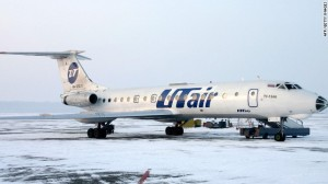 russia frozen plane