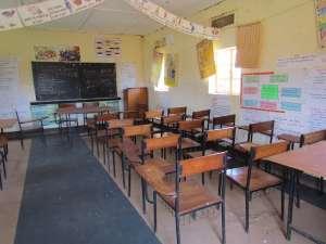 western Uganda classroom