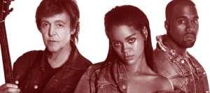 Rihanna McCartnery Kanye