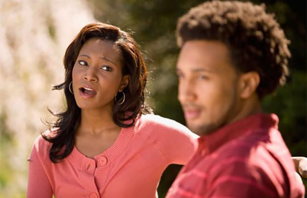 Image result for black couple arguing