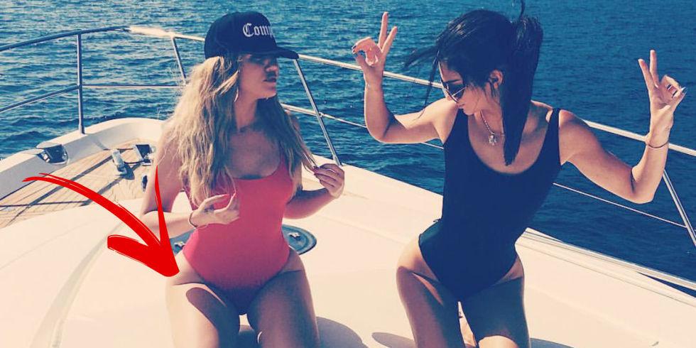 Kardashian Thigh Gap