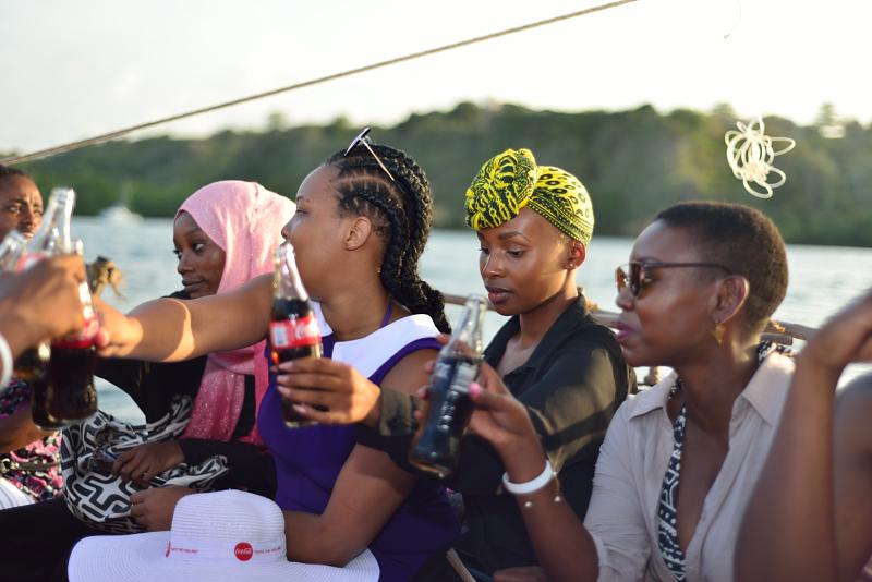 Tasting The Feeling in the ocean, Cheptoek Boyo,Joy Kendi and Patricia Kihoro