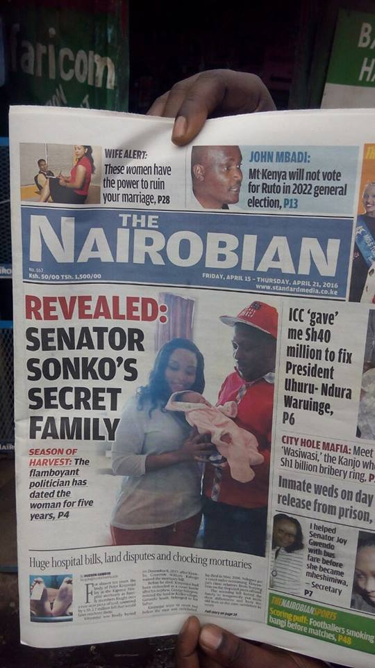 The Nairobian Headline Sonko