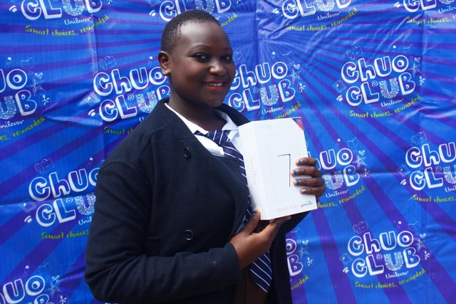 Diana Onyango-Sirinde Secondary School(404) Tab winner