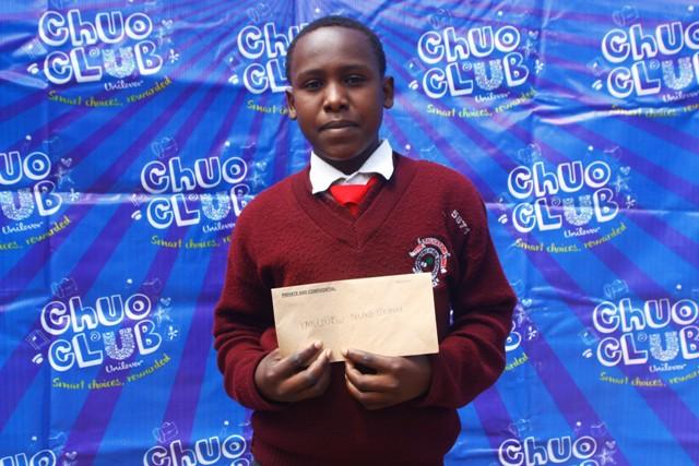 William Muthini-Tala High School (104) Tab winner