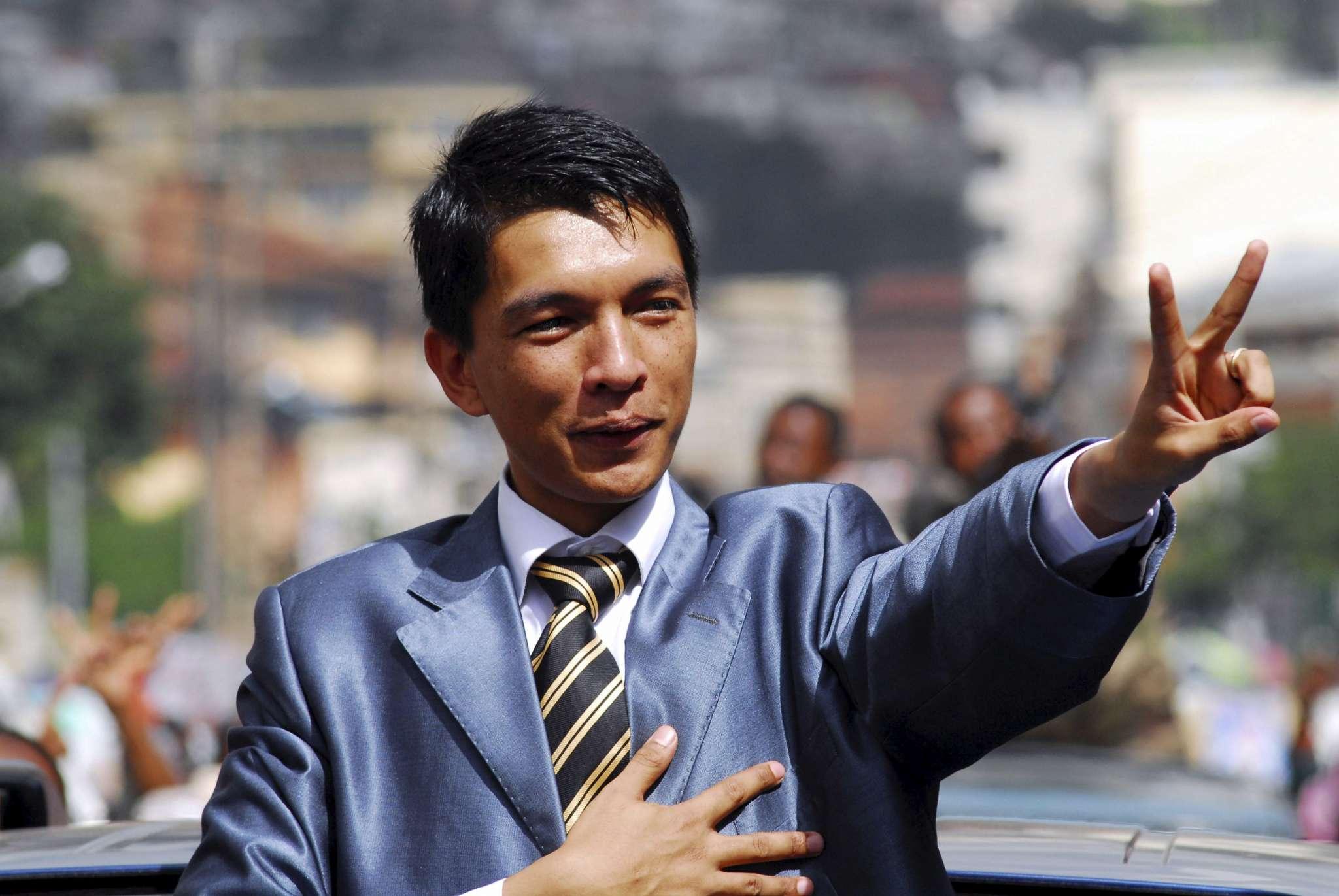 Andry Rajoelina of Madagascar