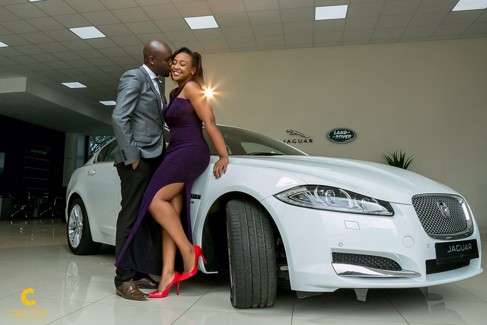 Dennis Okari and Betty Kyalo on their big day
